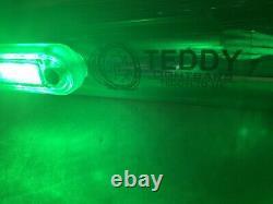 UNIVERSAL STAINLESS STEEL LIGHT BAR 120 CM Whit 5 LEDs LORRY TRUCK VAN
