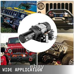 VEVOR Electric Winch 5000LBS 12V 13M Steel Cable Towing Truck ATV UTV Trailer