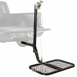 Viking SwiveLift Hitch Mounted Truck Bed Lift Platform 300lb Capacity